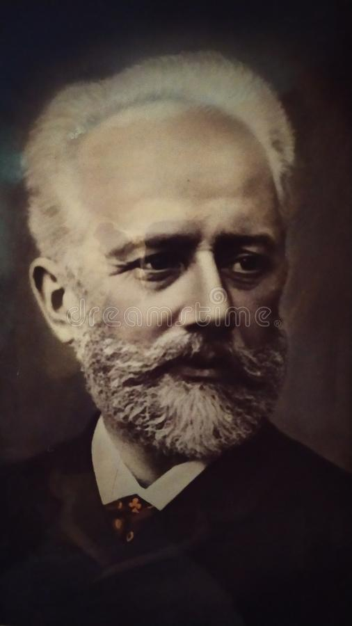Free Old Photo By Composer Pyotr Tchaikovsky Royalty Free Stock Photography - 165327687