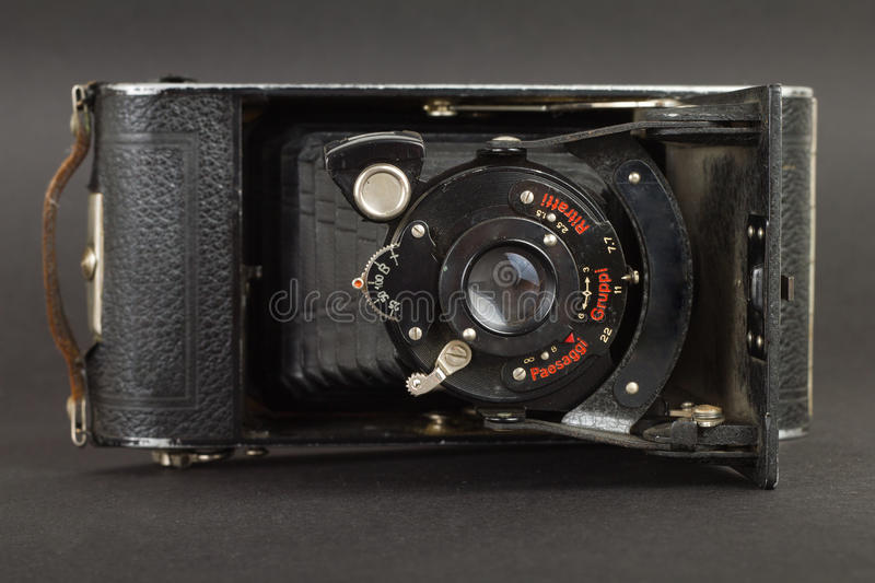 Download Old photo camera stock photo. Image of close, antique - 20916850