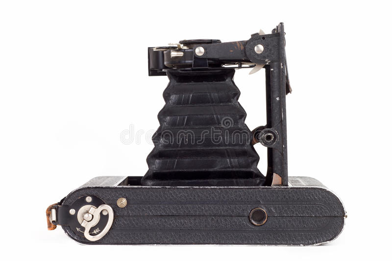 Download Old photo camera stock photo. Image of metal, leather - 20920432