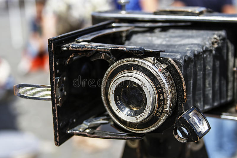 Download Old photo camera 7 stock photo. Image of picture, fair - 26118154