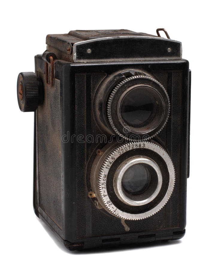 Free Old Photo Camera Stock Images - 9947264