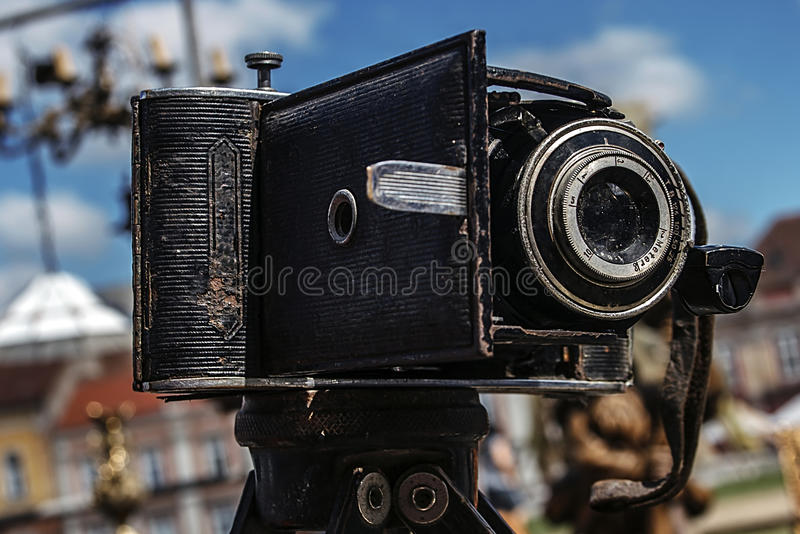 Download Old photo camera stock photo. Image of cloud, equipment - 31950994