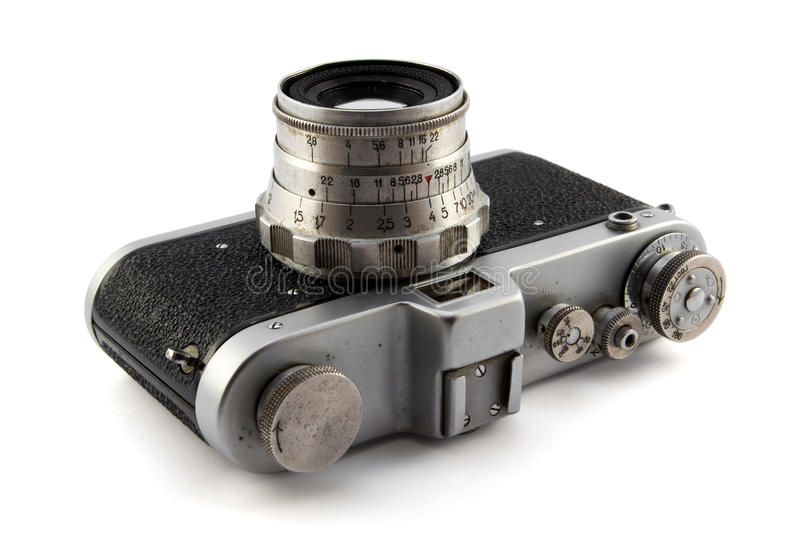 Download Old photo camera stock photo. Image of vintage, glass - 34630674
