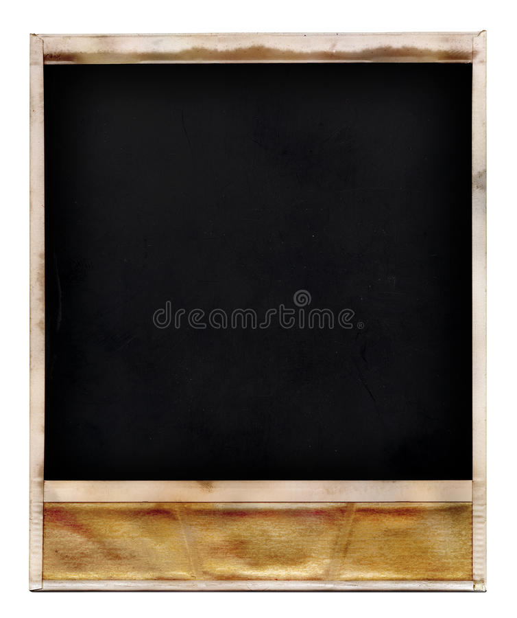 Download Old photo frame stock image. Image of blank, side, white - 16488719