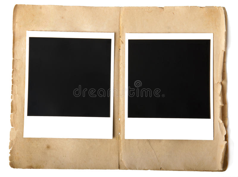 Download Old photo frame stock photo. Image of album, confines - 24063870
