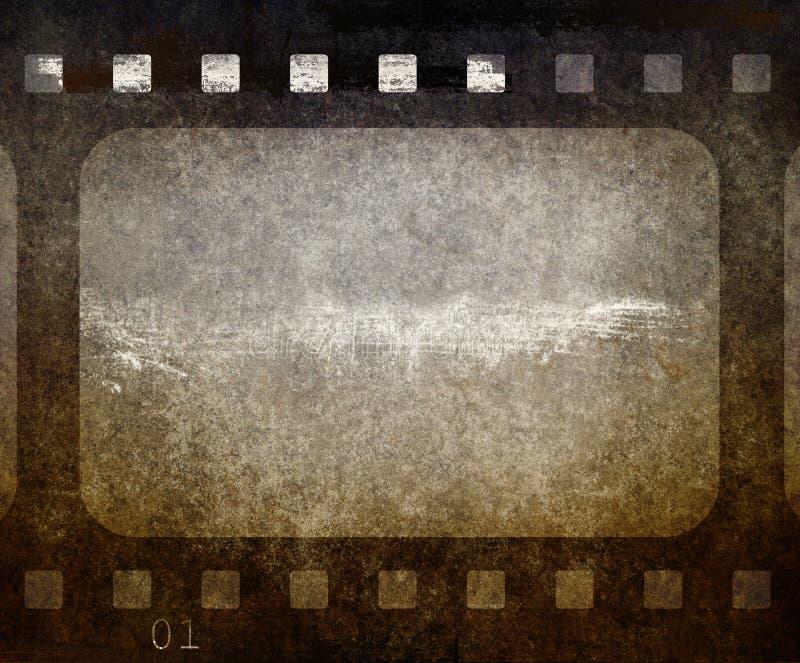 Old photo frame. vector illustration