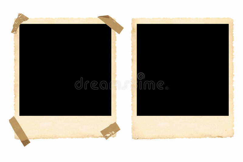 Old Photo Frames stock image