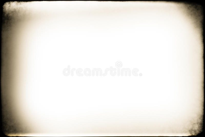 Old Photo Grunge Frame. An old photo grunge frame royalty free stock photography