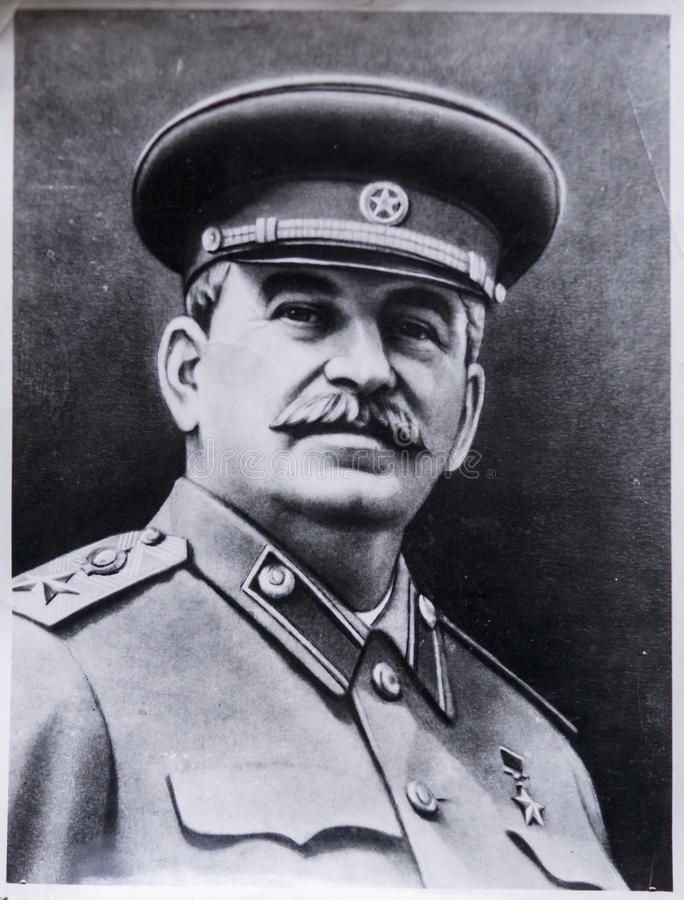 Free Old Photo Of Stalin Stock Photo - 67744100
