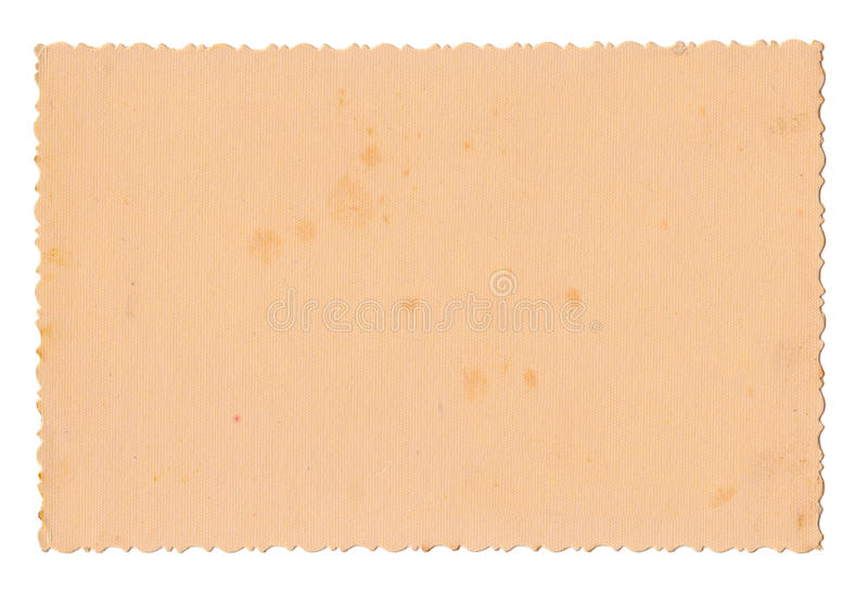 Old photo paper stock photography
