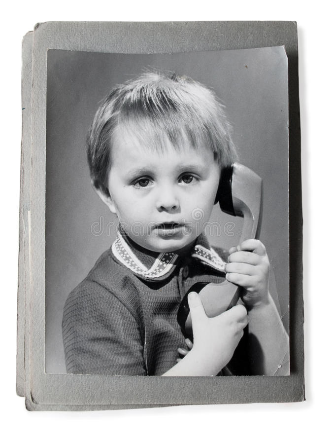 Download Old Photo In An Vintage Photoalbum Stock Image - Image of original, caucasian: 19080753
