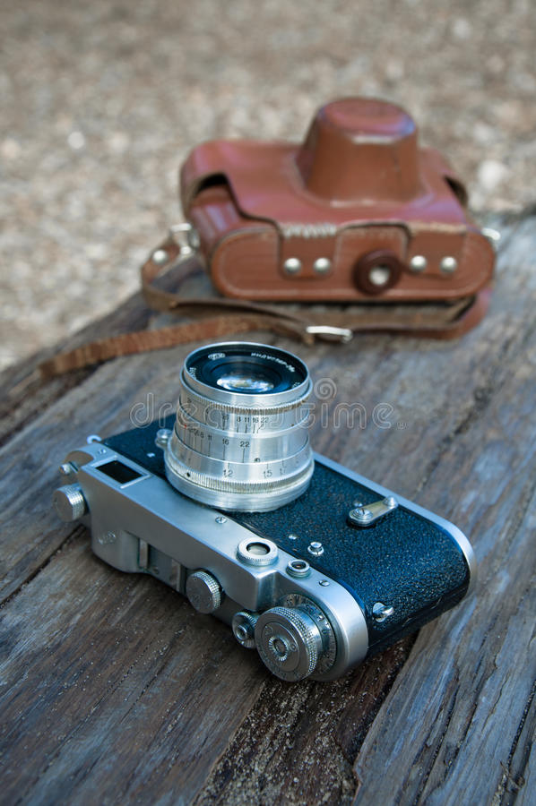 Download Old photographic camera stock image. Image of closeup - 27475519