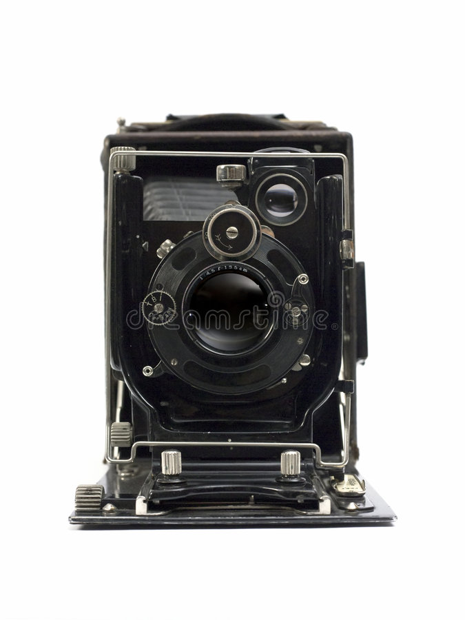 Old Photographic Camera Royalty Free Stock Photo