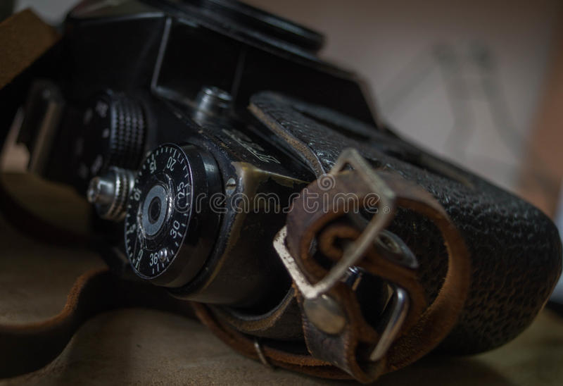 Old photographic equipment stock images