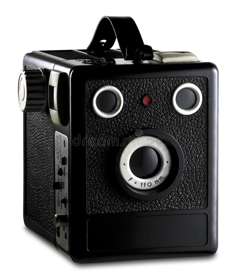 Download Old photography camera stock photo. Image of contrast - 15877710