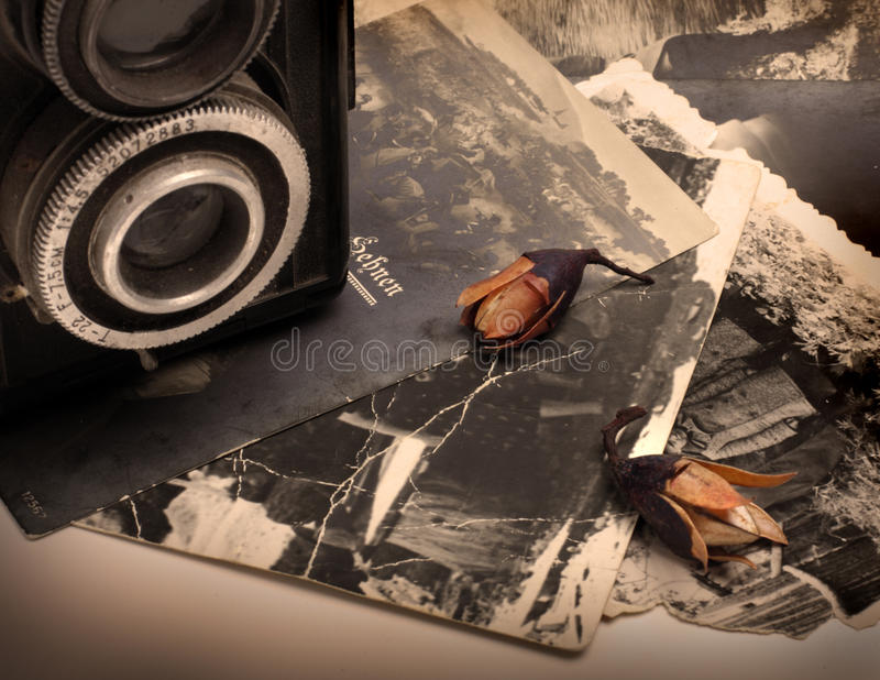 Download Old photos stock image. Image of concept, card, lens - 10215539