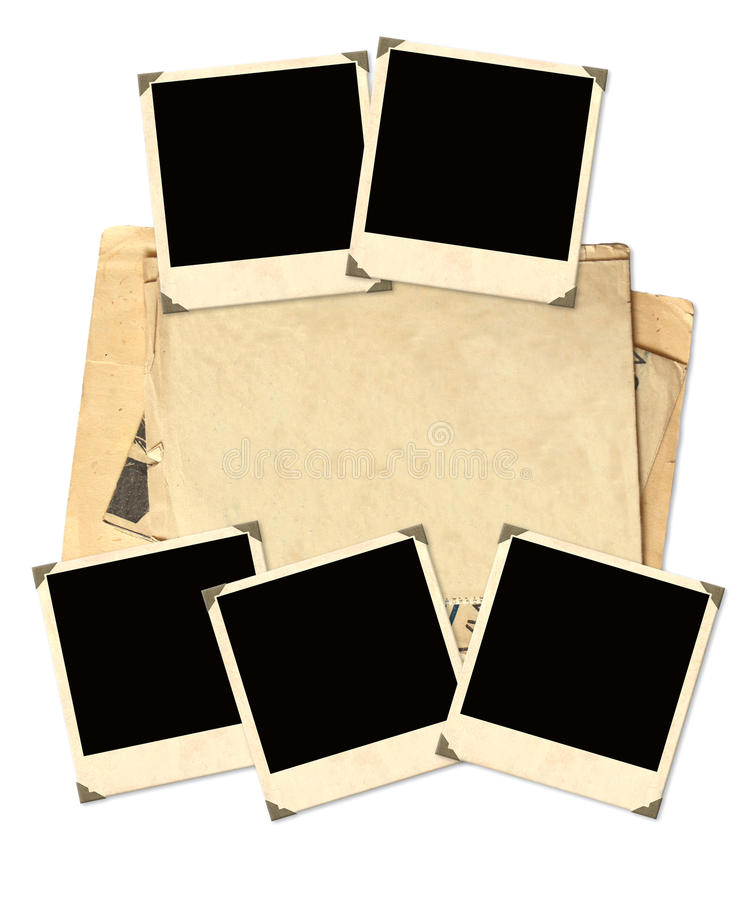 Download Old Photos For Scrapbooking Stock Image - Image: 28654409