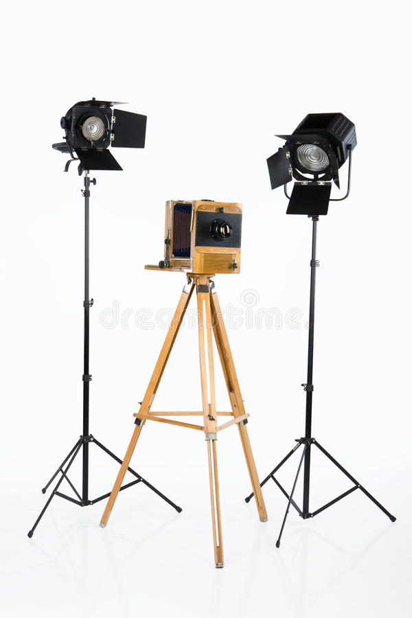 Download Old Photostudio stock image. Image of studio, projector - 9660835