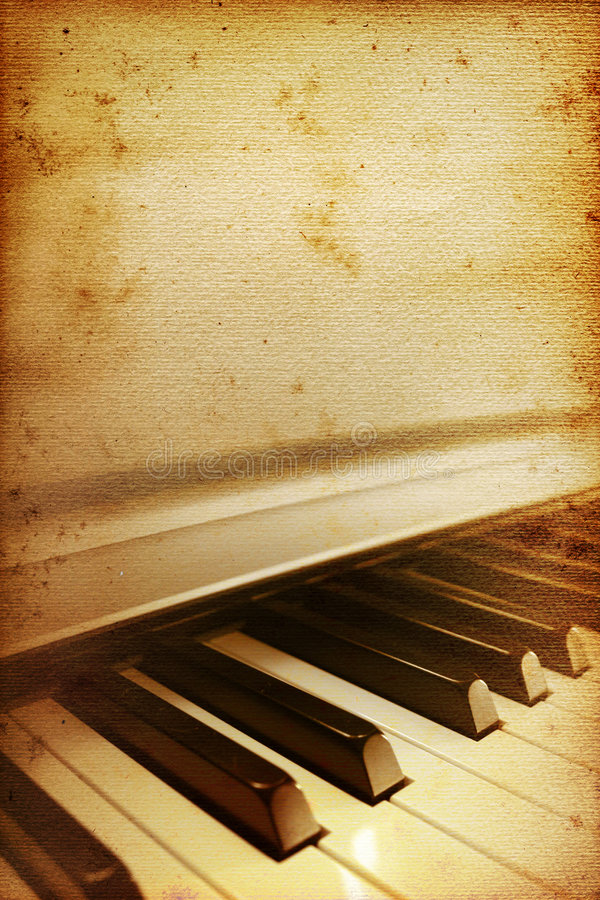 Download Old Piano Bar Royalty Free Stock Images - Image: 7323299