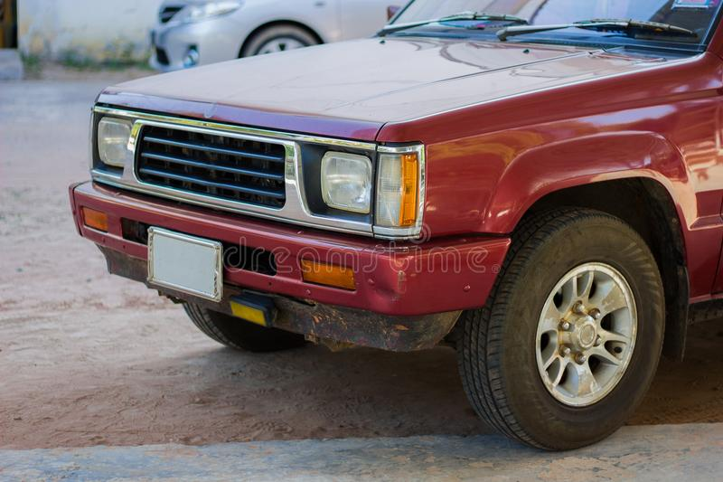 An old pickup truck royalty free stock photography