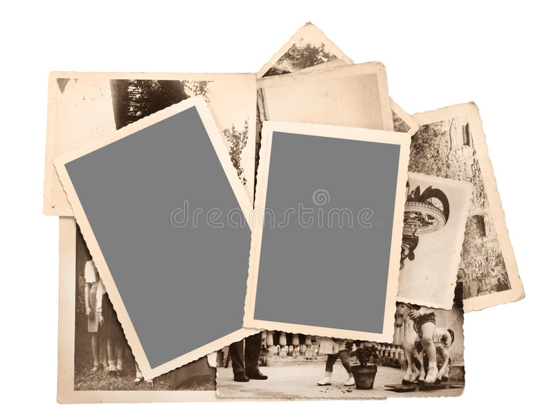 Old Pictures Royalty Free Stock Photo