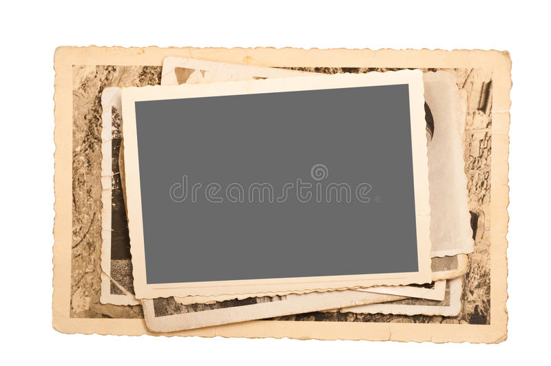 Old pictures royalty free stock images