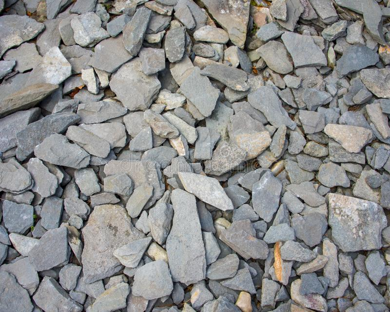 Old Pieces of Slate stock image