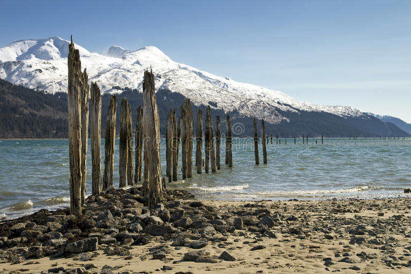 Download Old Pier In Alaska Royalty Free Stock Photos - Image: 19556428