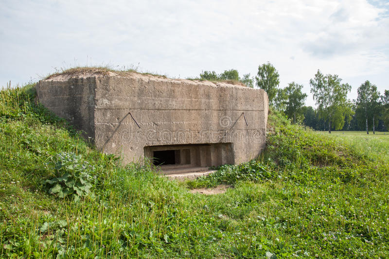 Old pillbox since the Second World war