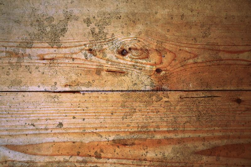Old pine wood grunge floor boards crack pattern surface abstract texture background stock image