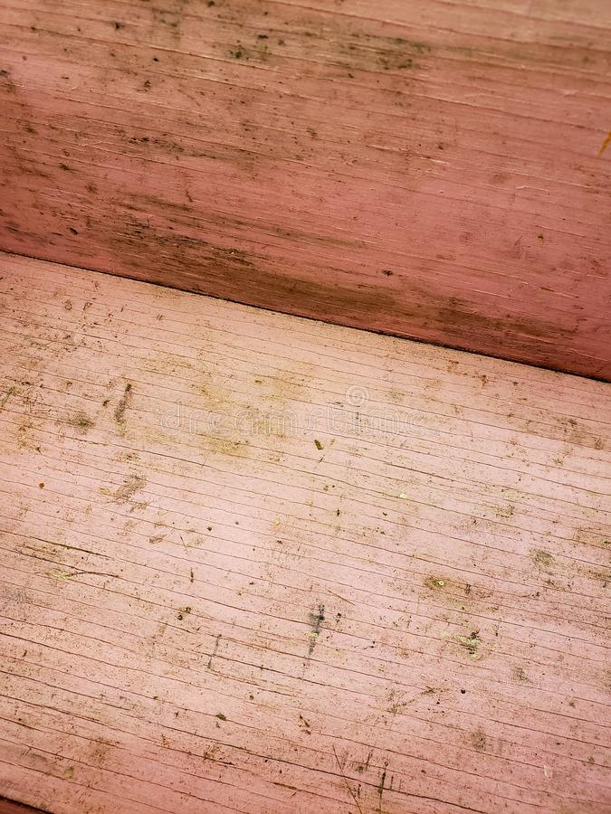Old pink wood textures and background royalty free stock photos