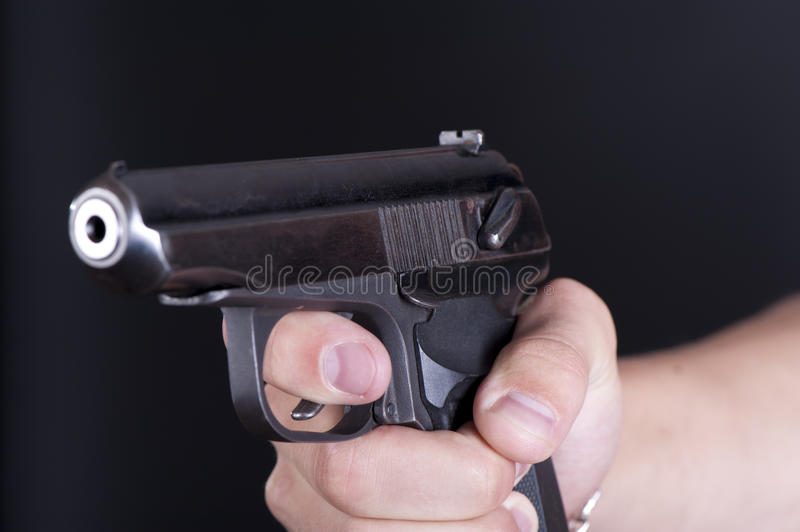 Download Old pistol stock photo. Image of security, shot, defence - 26749040