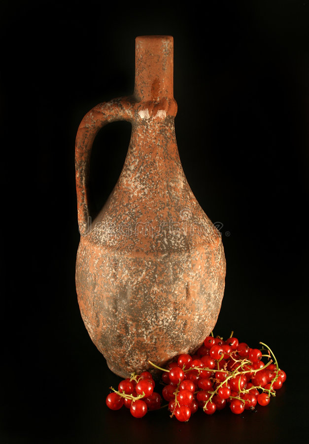 Old pitcher