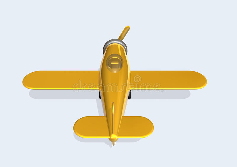 Download Old Plane stock illustration. Illustration of airfield - 10761072