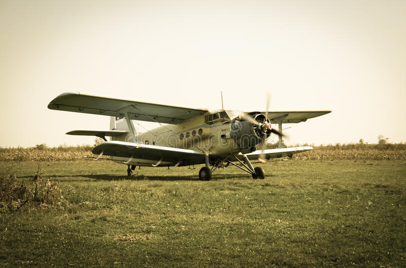 Old Plane Stock Images