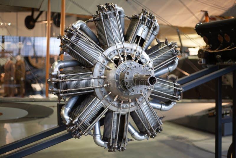 Old plane engine royalty free stock photos