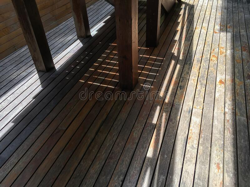 Old planked wood texture background, Stair, Brown colour, Light and shadow shot. Old planked wood texture background, Stair, Brown colour, Light & shadow shot royalty free stock image