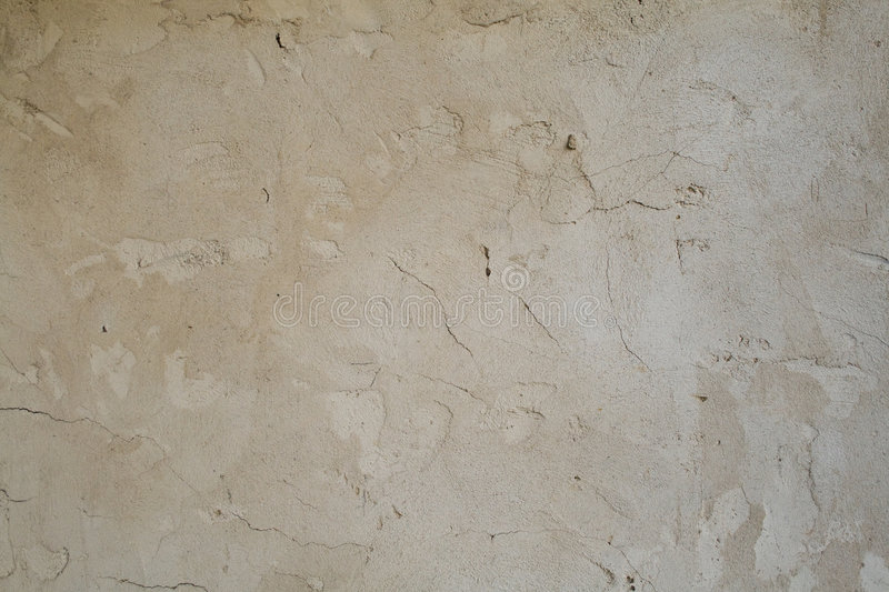 Old plaster stock image