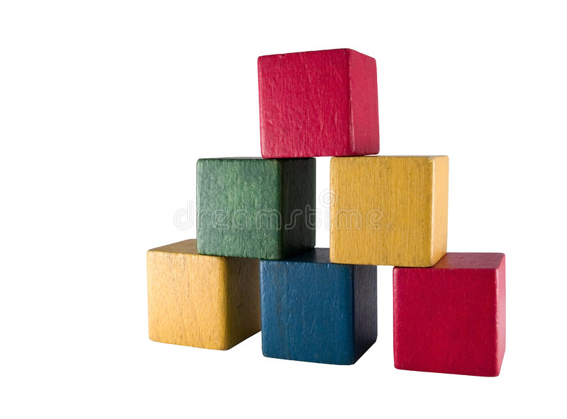 Download Old play blocks stock image. Image of idea, house, cubes - 467105
