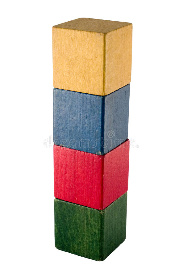 Download Old play blocks stock photo. Image of architecture, increase - 516002