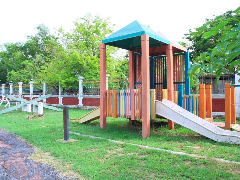 Download Old play ground stock image. Image of outside, exercise - 24895599