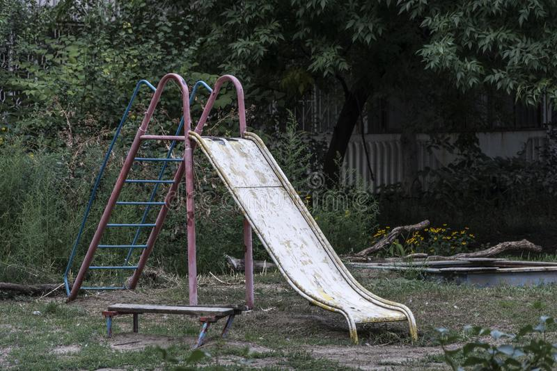 Old Playground. An old Playground where you do not play royalty free stock image