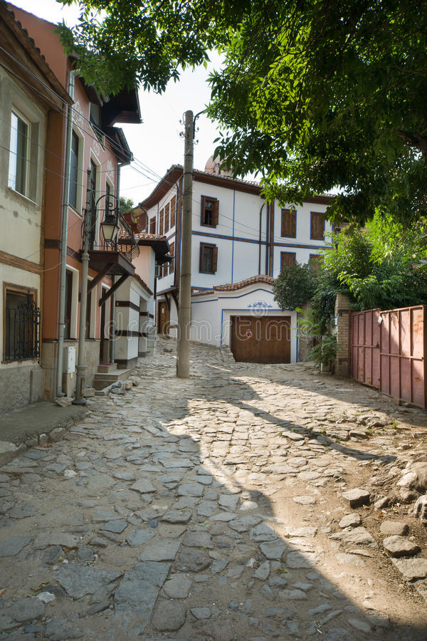 Old Plovdiv, Bulgaria royalty free stock photos