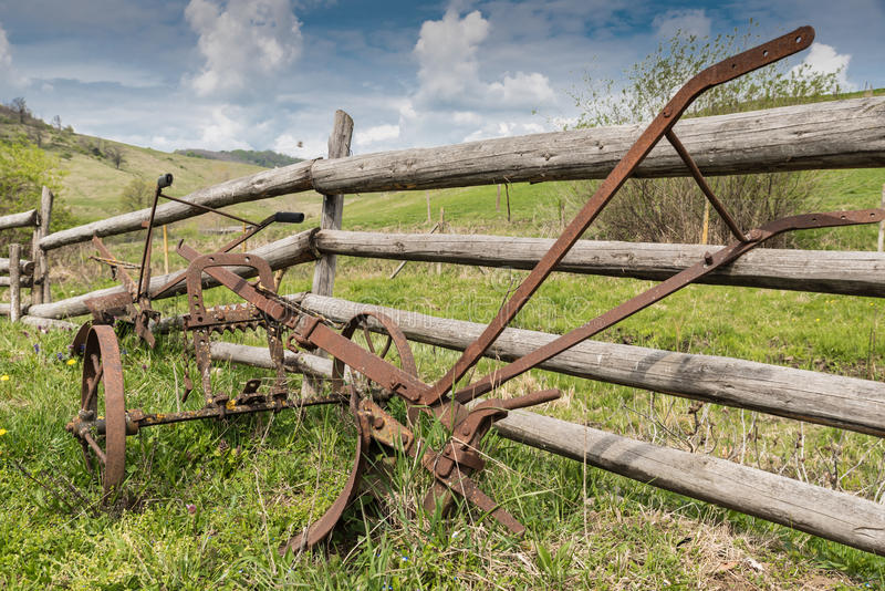 Download Old plowing tool stock photo. Image of blade, cultivate - 98816228