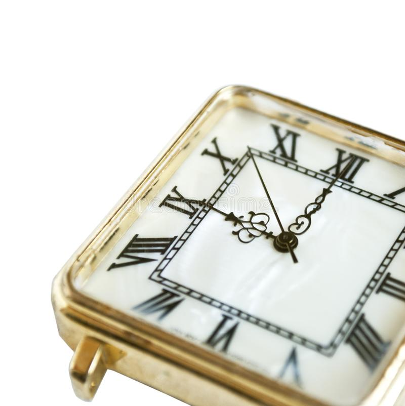 Old pocket watch close up royalty free stock images