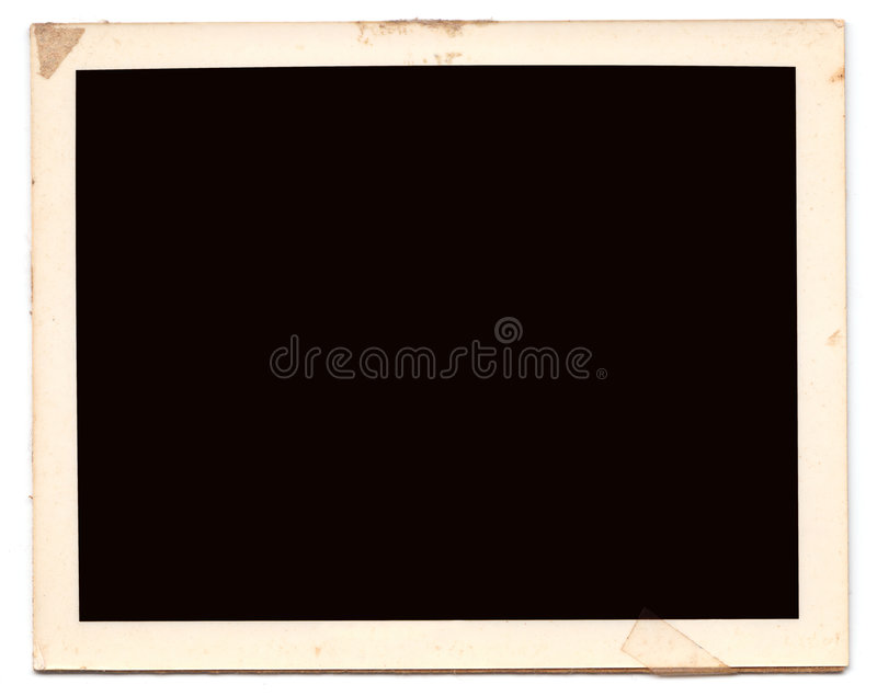 Old Polariod royalty free stock images