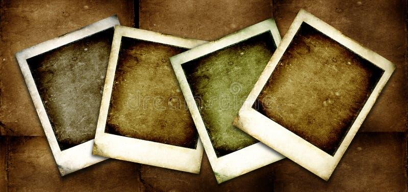 Old Polaroid vector illustration