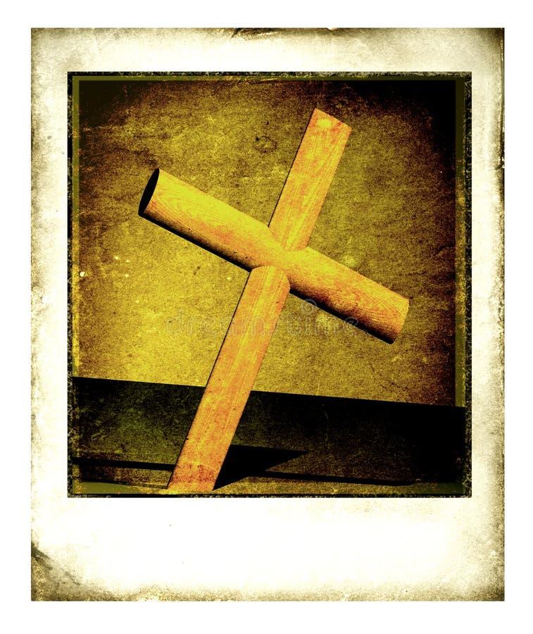Download Old Polaroid Frame stock illustration. Image of brown - 3915711