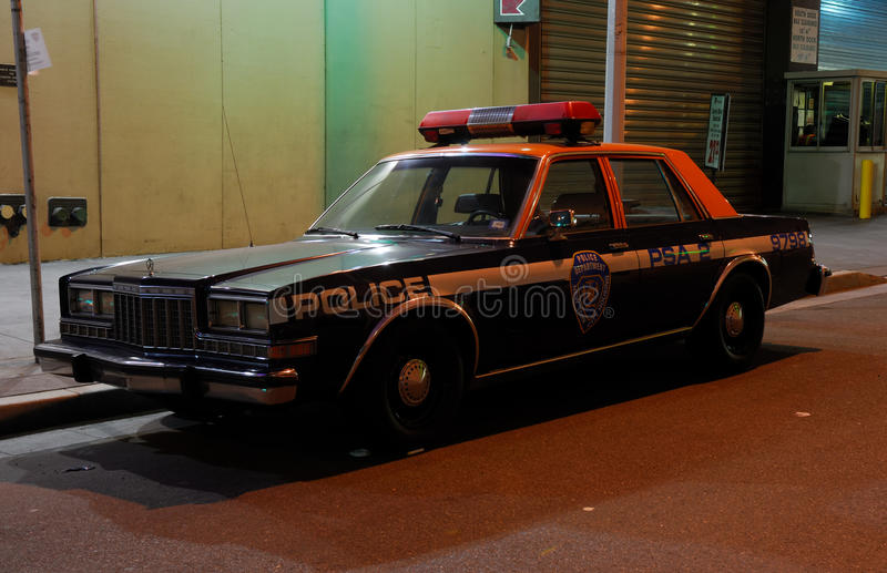 Download Old Police Car In New York City Editorial Image - Image: 18278855