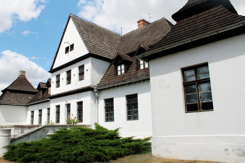 Old polish residency - manor house stock images